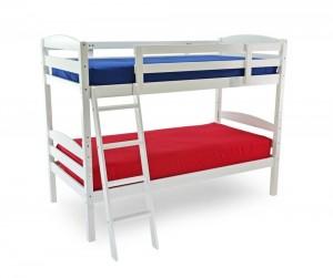 Moderna White Bunk Bed
