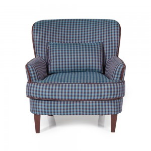 Blue Moffat Occasional Chair