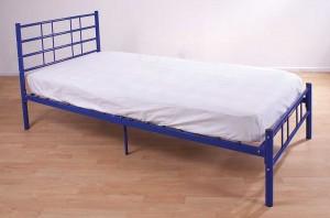 Morgan Blue Single Bed Frame