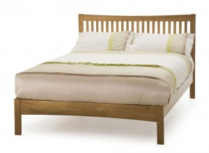 Mia Honey Oak Super Kingsize Bed Frame