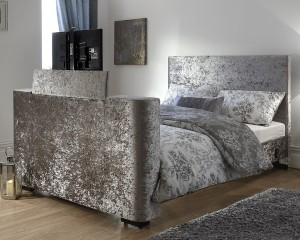 Nottingham Crushed Velvet TV Bed Frame