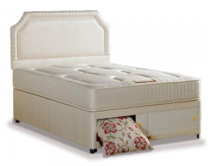 Onyx Luxury Three Quarter End Slidestore Divan Bed