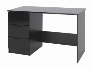 Orient Black Gloss Dressing Table