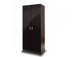 Otto Black High Gloss 2 Door Robe