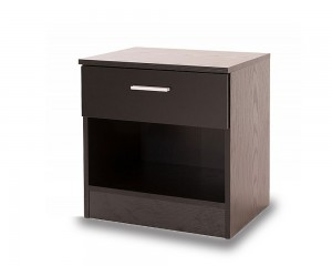 Otto Black Bedside Chest
