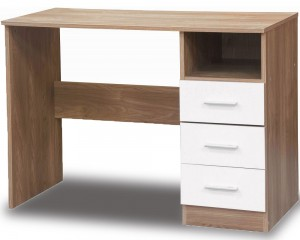 Otto White And Oak Desk