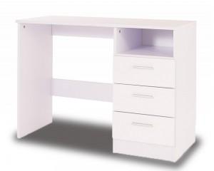 Otto White High Gloss Desk