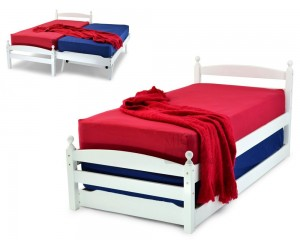 Pals White Guest Bed Frame