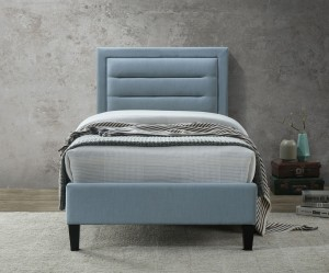 Casso Single Bed Frame Blue