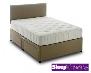 Pine Support Double Divan Bed