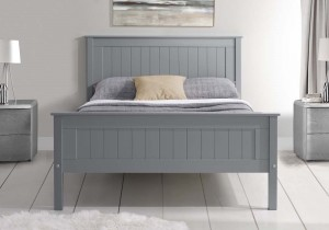 Taurean Grey Bed Frame