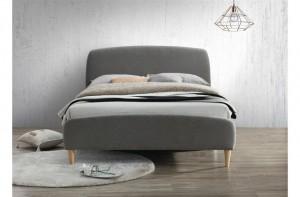 Qube Soft Grey Bed Frame