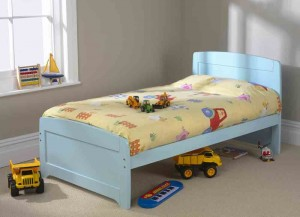 Rainbow Blue Single Bed Frame