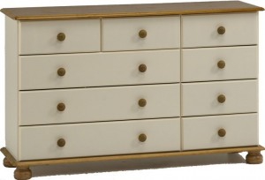 Richmond Cream 2+3+4 Drawer Chest