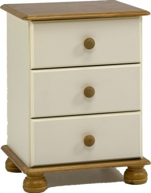 Richmond Cream Bedside Chest