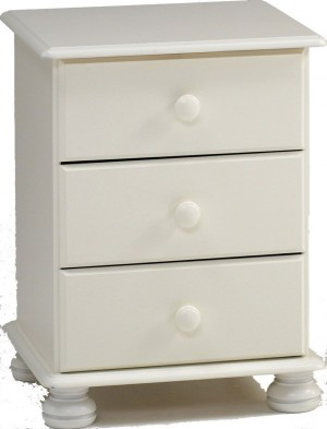 Richmond White Bedside Chest