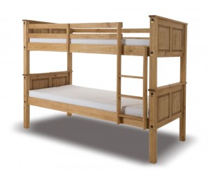Rustic Wax Bunk Bed