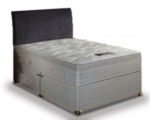 Double divan beds divan beds medium firm for Double divan bed with firm mattress