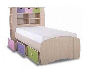Sid Pastel Storage Bed Frame