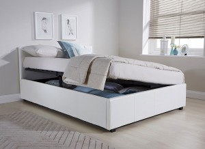 Side Lift Ottoman Bed Frame