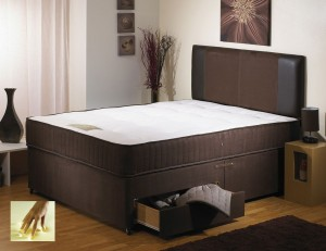 Special Memory Single 2 Drawer Divan Bed