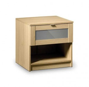 Strada 1 Drawer Bedside Chest