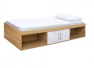 Daytona White Storage Bed