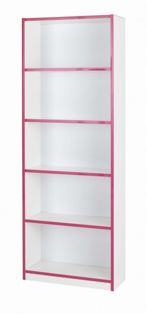 Teen Mode Pink Bookcase