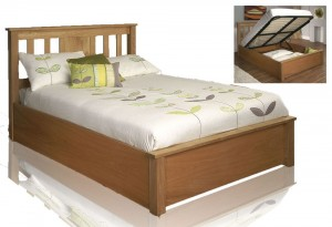 Terrano Super Kingsize Storage Bed Frame
