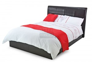 Texan Black Or Brown Super Kingsize Bed Frame