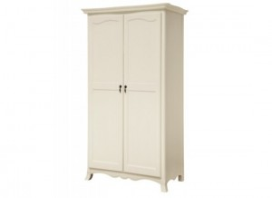 Chantelle Antique White Wardrobe