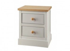St.Austell Dove Grey Bedside Chest