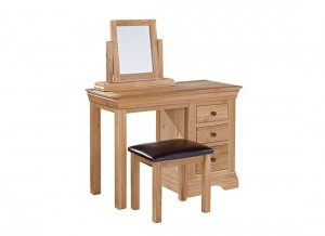 Worthing Oak Dressing Table Set