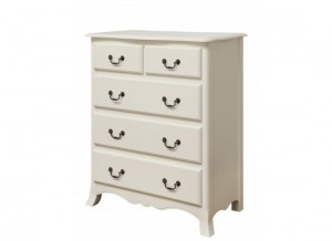 Chantelle Antique White 3+2 Chest