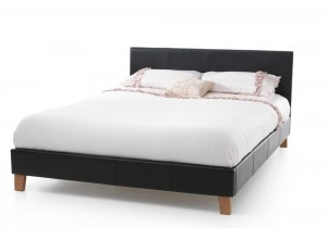 Tyrol Black Double Bed Frame