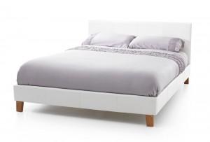 Tyrol White Kingsize Bed Frame