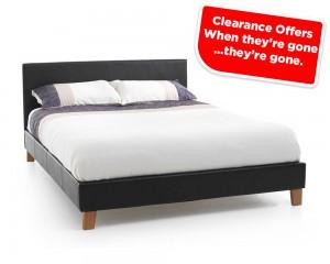 Tyrol Brown Three Quarter Bed Frame Sale