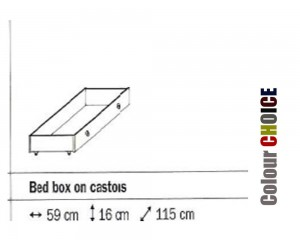 Rauch Celina Bed Box On Castors