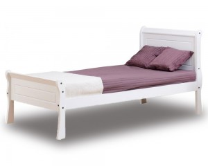 Georgina White Bed Frame