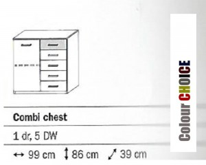 Rauch Celina Combi Chest