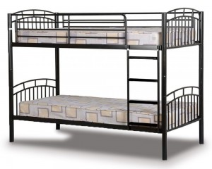 Vernon Black Bunk Bed
