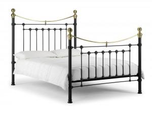 Vicky Black Kingsize Bed Frame