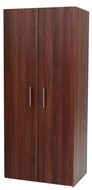 Walnut Mode 2 Door Robe