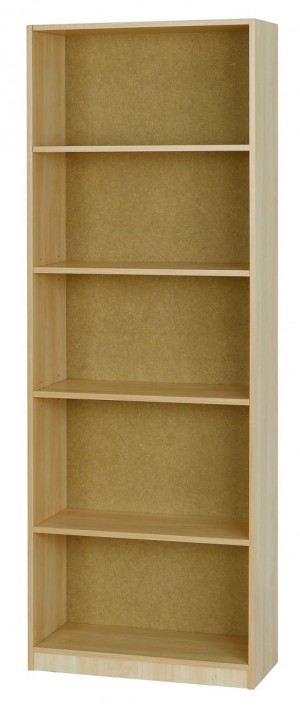 Woodgrain Medium Bookcase