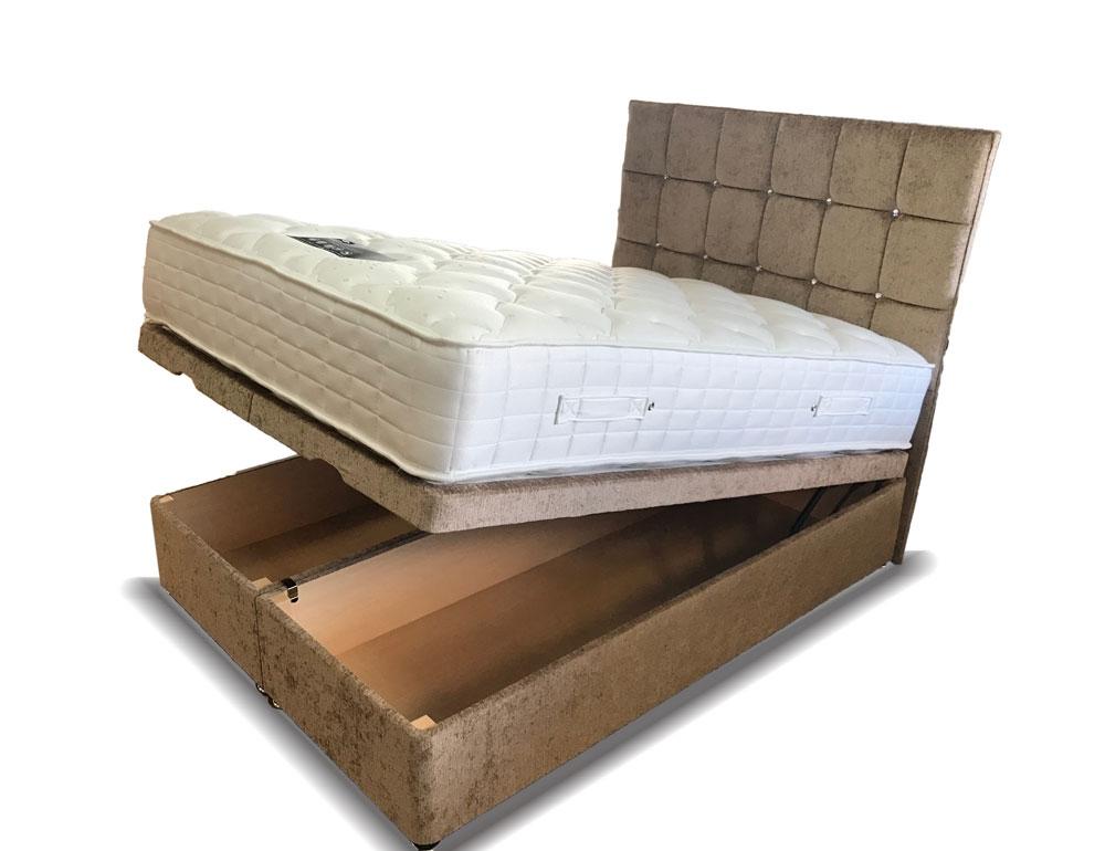 Verano Ottoman Storage Kingsize Divan Bed